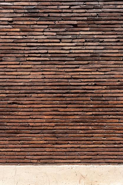 Fond De Mur De Brique Espace Copie Marron Photo gratuit