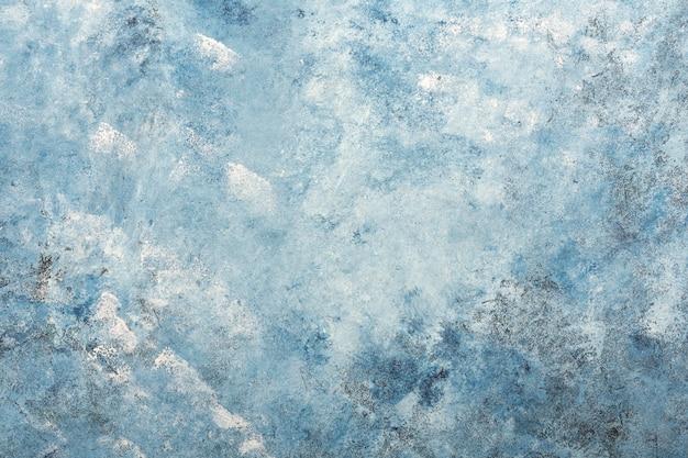 Fond de mur en stuc texturé bleu foncé Photo gratuit