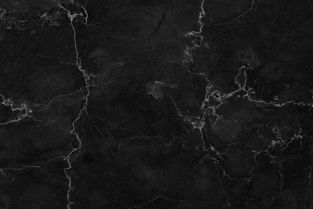 Fond Noir Texturé En Marbre. Marbre De Thaïlande, Marbre Naturel Abstrait Noir Et Blanc Pour Le Design. Photo gratuit