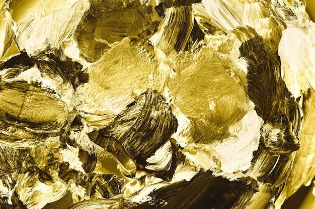 Fond d'or texturé Photo gratuit