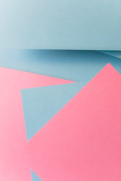Fond de papier abstrait de forme géométrique couleur gris et rose Photo gratuit