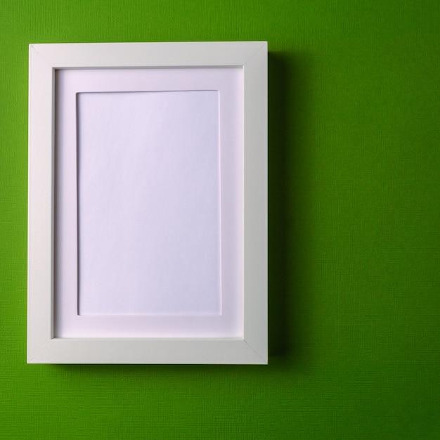 Fond de papier abstrait minimalisme colofrul avec cadre d'image vide. Photo Premium