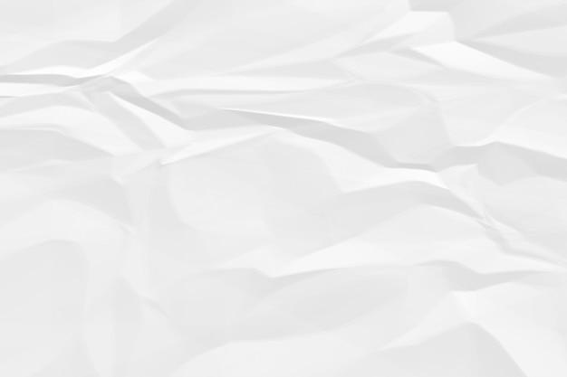 Fond de papier blanc froissé se bouchent Photo Premium