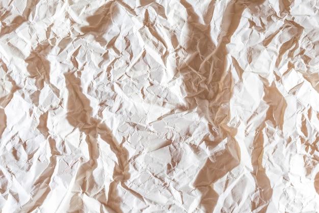 Fond de papier froissé Photo Premium