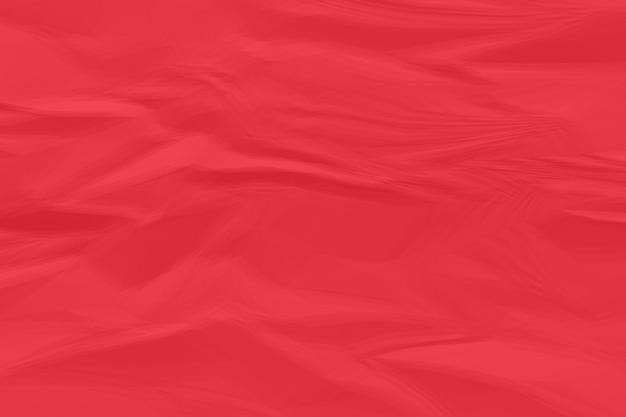 Fond de papier rouge froissé se bouchent Photo Premium