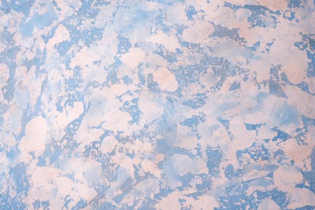 Fond de pierre blanche bleue avec une haute résolution. vue de dessus. Photo Premium