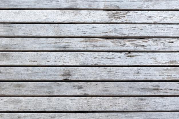 Fond de planches de bois blanc vieilli Photo gratuit