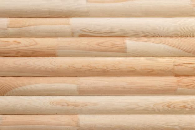 Fond de planches de bois collées Photo Premium