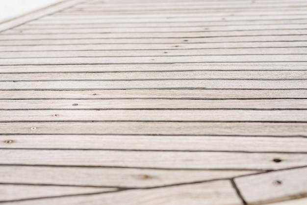 Fond de planches de bois gris usés. Photo Premium