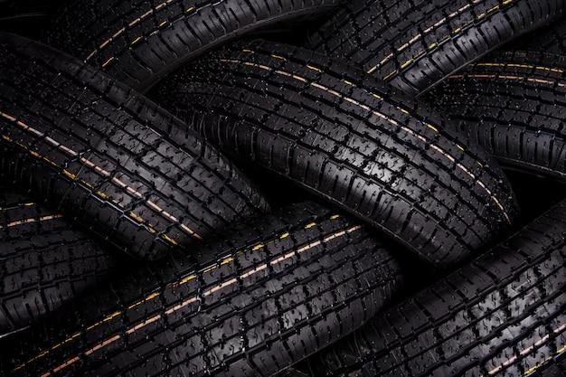 Fond de pneu Photo Premium