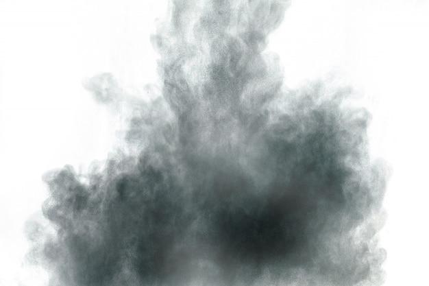 Fond de projection de particules de poussière Photo Premium