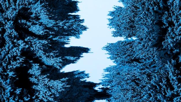 Fond de rasage en métal magnétique bleu Photo gratuit