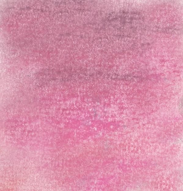 Fond Rose D'un Dessin à La Craie Pastel Photo gratuit