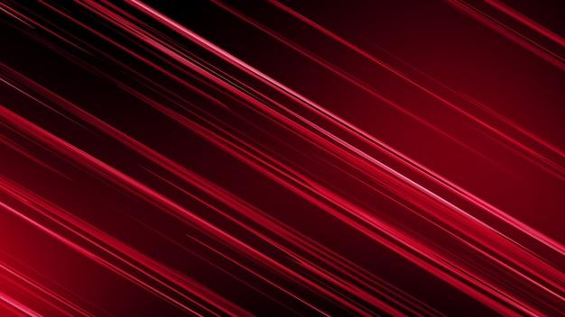 Fond rouge, alternance de rayures diagonales jaunes. Photo Premium