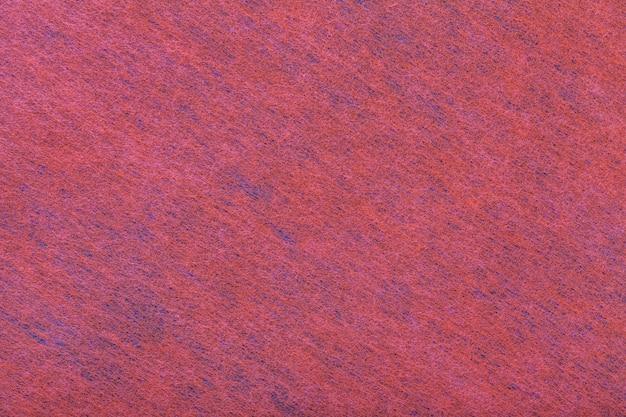 Fond rouge et bleu foncé en feutre Photo Premium