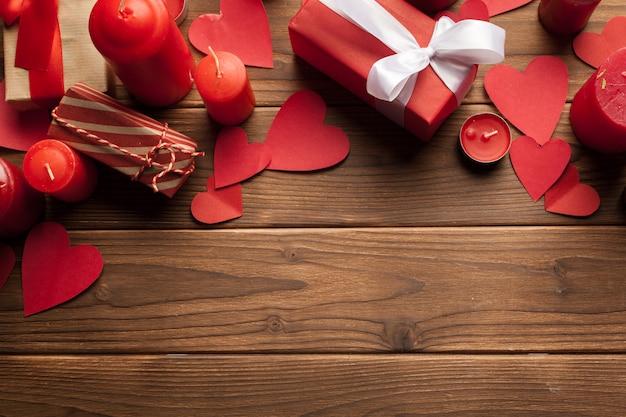 Fond De Saint Valentin Heureux Photo Premium