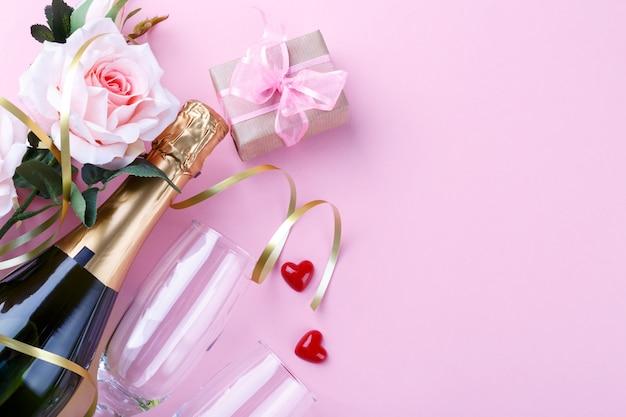 Fond de la saint-valentin Photo Premium