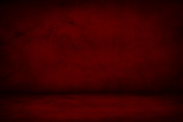 Fond de studio rouge et marron foncé Photo Premium