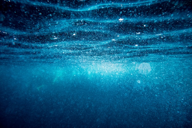 Fond de surface sous-marine Photo Premium