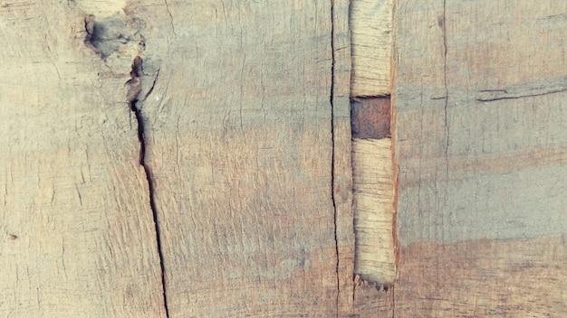 Fond de surface de texture du bois fissuré Photo gratuit