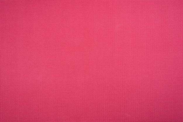 Fond de tapis de gym rouge Photo gratuit