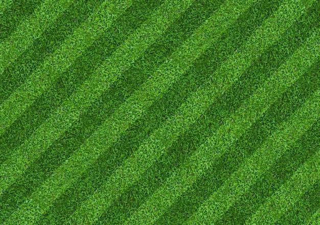 Fond de terrain d'herbe verte pour les sports de football et de football. fond de texture de pelouse verte. fermer. Photo Premium