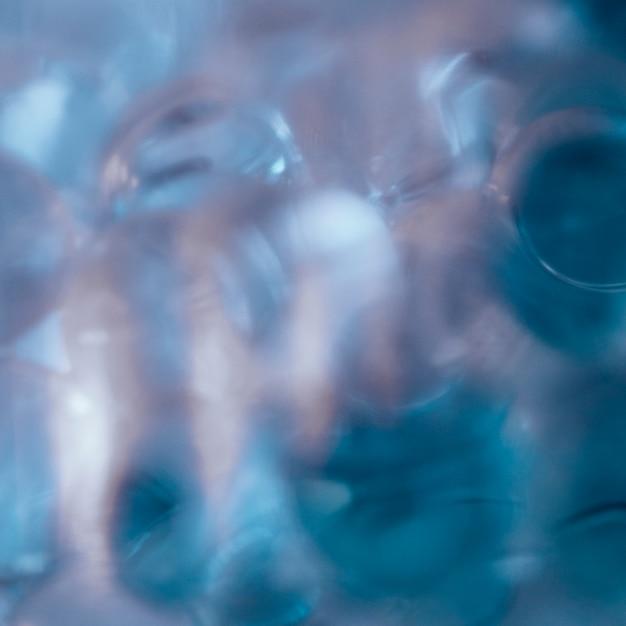 Fond de texture abstraite de formes bleues Photo gratuit