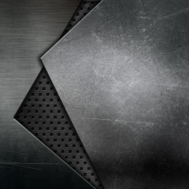 Fond De Texture Abstraite Avec Des Motifs Métalliques Photo gratuit