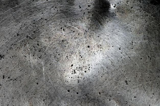 Fond de texture en acier métal grunge Photo Premium
