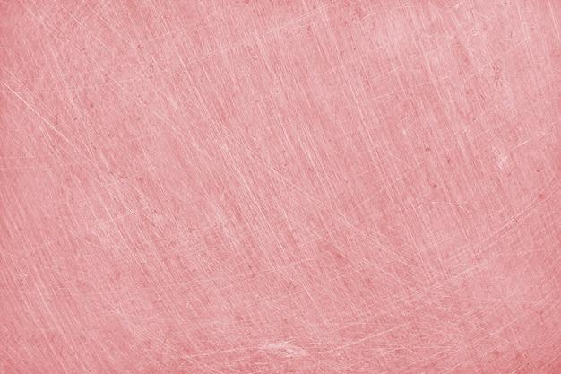Fond de texture en aluminium avec couleur or rose Photo Premium