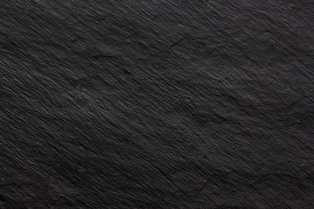 Fond Ou Texture D'ardoise Noire Foncée Photo Premium