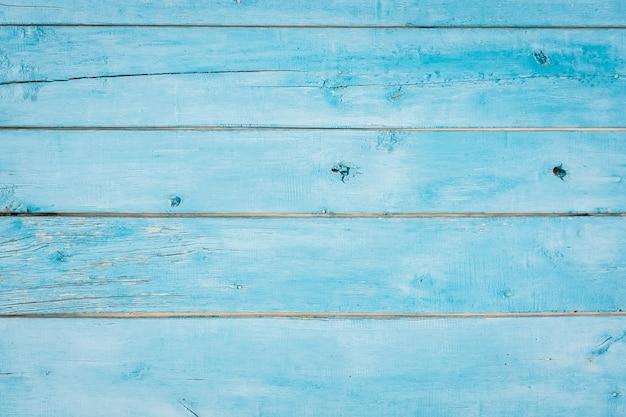 Fond de texture bois bleu Photo Premium