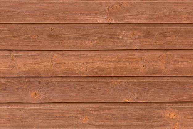 Fond de texture bois brun clair Photo Premium