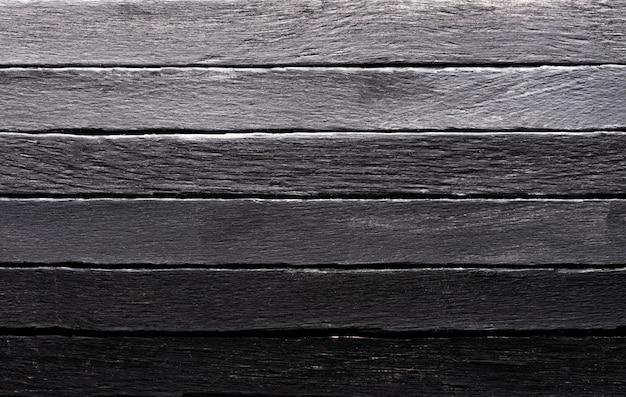 Fond De Texture Bois Couleur Noire Photo Premium