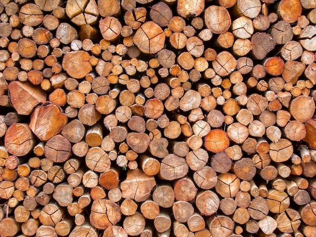 Fond De Texture Bois De Feu | Photo Premium