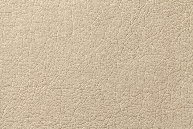 Fond de texture de cuir beige clair avec motif, gros plan Photo Premium
