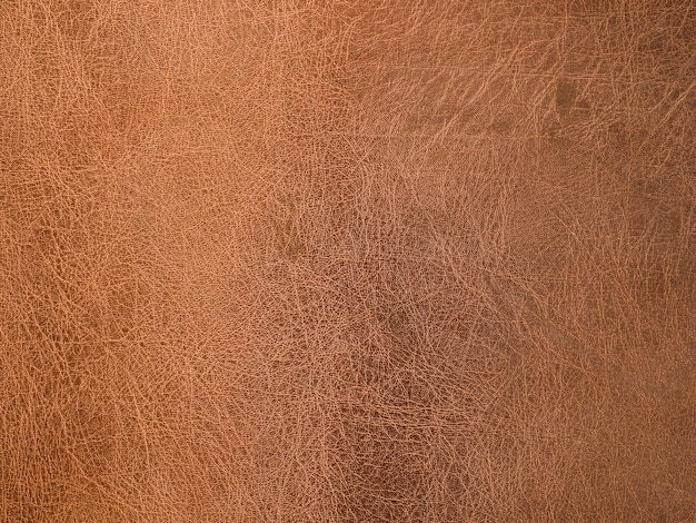 Fond texturé en cuir marron Photo gratuit