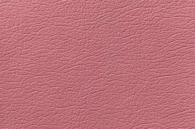 Fond de texture de cuir rose avec motif Photo Premium