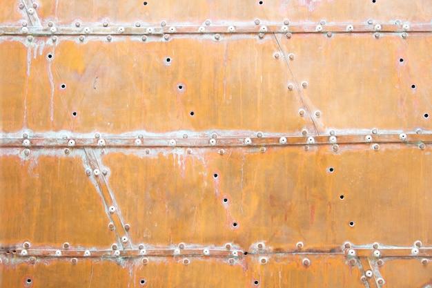 Fond de texture de cuivre Photo Premium