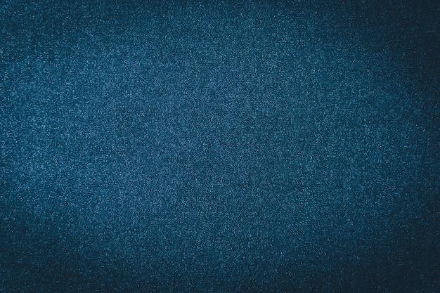 Fond de texture denim bleu. jean textile indigo Photo Premium