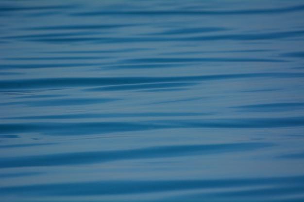 Fond de texture de mer bleu vague. Photo Premium