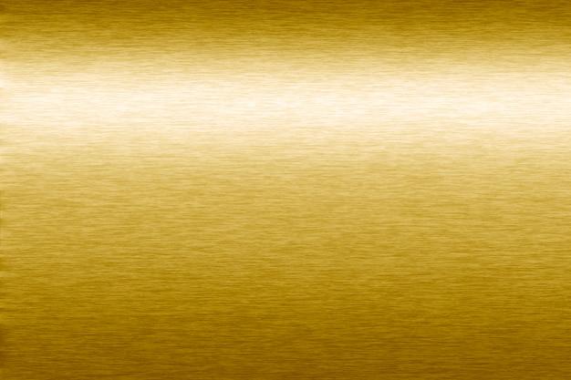 Fond texturé métallique doré Photo gratuit
