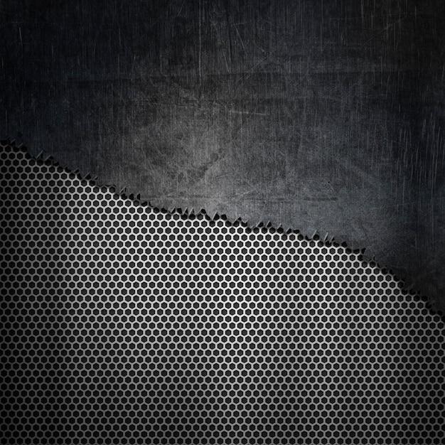 Fond de texture métallique Photo gratuit