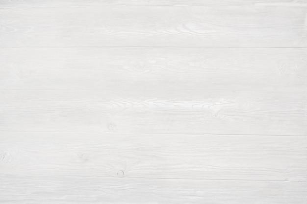 Fond de texture de mur en bois blanc moderne Photo Premium