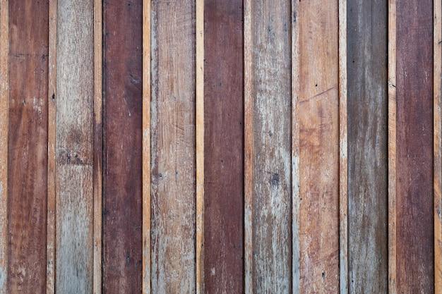 Fond de texture de mur en bois Photo Premium