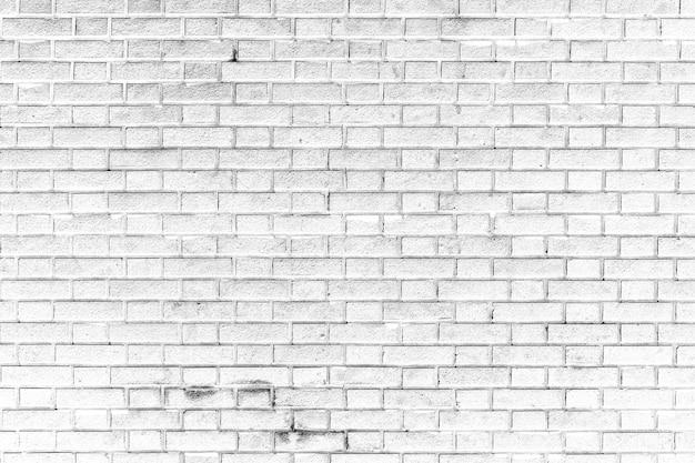 Fond De Texture De Mur De Brique Blanche Photo Premium