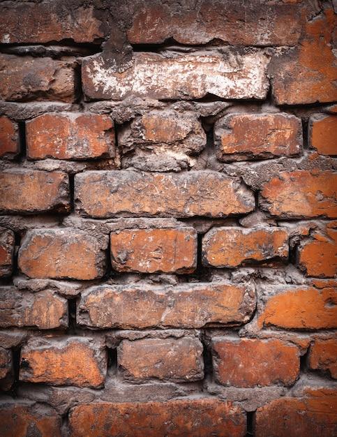 Fond De Texture De Mur De Brique Colorée. Photo Premium