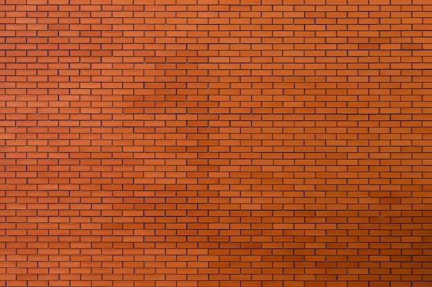 Fond de texture de mur de brique rouge. Photo Premium