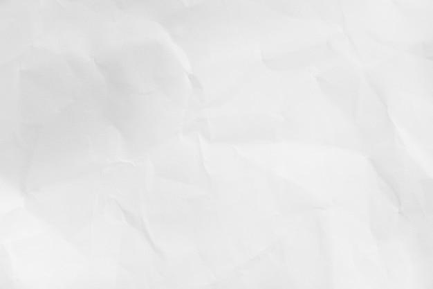 Fond De Texture De Papier Blanc Froissé Recyclé Photo Premium