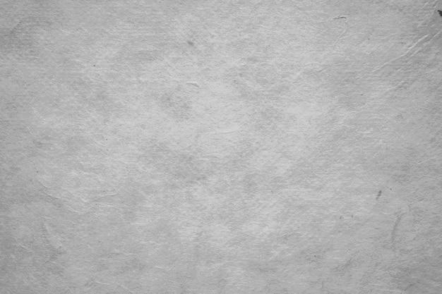 Fond texturé de papier de couleur gris blanc Photo Premium